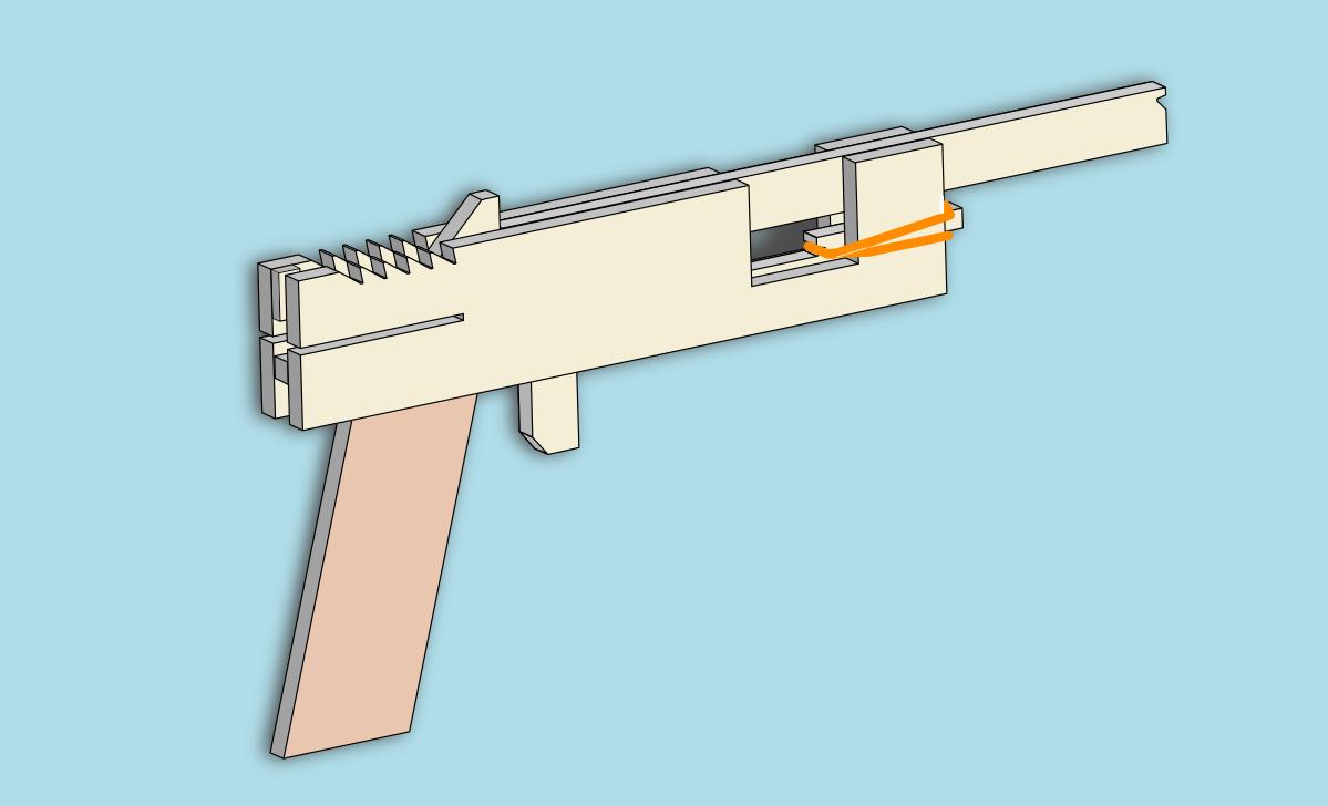 作り方 ダンボール 工作 簡単 銃