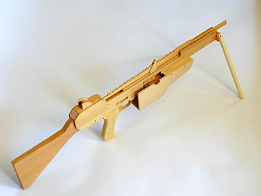 how to make a small wooden crossbow